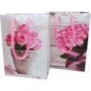 sac cadeau 16x11,5x6cm Rose Conception,
