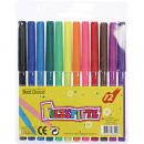 grossiste Stylos et crayons: Feutres sous blister de 12