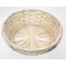 wholesale Organisers & Storage: Bast basket plaited natural wide