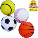 wholesale Toys: Rubber ball 6.3 cm  in diameter in the display
