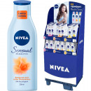 Nivea Body Sensuals Lotion 250ml in the 60s Displa