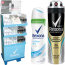 groothandel Make-up: Rexona Deo Spray  75ml / 150ml in 264er Display 11-