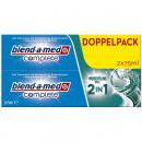 Blend-a-med Pasta  do zębów Kompletna 2w1 2x75 ml b