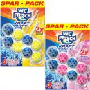 groothandel Reinigingsproducten: WC Frisch kracht actieve 20 Mixkarton Duopack