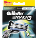 wholesale Shaving & Hair Removal:Gillette Mach3 6 blades