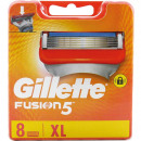 wholesale Shaving & Hair Removal:Gillette Fusion 8 blade
