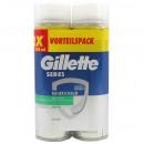 mayorista Salud y Cosmetica: la piel sensible  Gillette Series Espuma 2x250ml