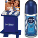 Nivea Deodorant roll on 2X50ml 120 assorted in the