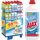 wholesale Houshold & Kitchen: Ajax all-purpose  cleaner 1 liter in the 144 Displa