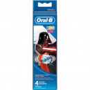 Großhandel Drogerie & Kosmetik: Oral B Aufsteckzahnbürsten StarWars 4er