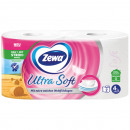 wholesale Drugstore & Beauty: Zewa Toilet Paper  2x150 Sheet Ultrasoft 4lg