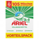 wholesale Laundry: Ariel Pods 3in1  105WL heavy duty detergent
