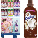 Softlan fabric softener 650ml in 144 Display