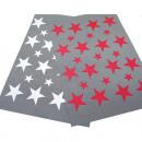 groothandel Tafellinnen: Placemat 45x30cm trendy ontwerp met sterren,