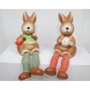 groothandel Home & Living: Hare randen seater  19x11x6cm met kleur Jutebeine