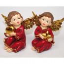 grossiste Figurines & Sclulptures: ange de luxe avec  des ailes XL 9x8x 6cm 2 fois tri