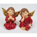 grossiste Figurines & Sclulptures: Les anges de luxe  6,5x6cm ailes XL 2 fois assorti