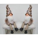 Großhandel Figuren & Skulpturen: Wichtel XL als  Kantensitzer  22x9x8cm ...