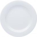 Chiny obiad talerz płaski biały 27cm
