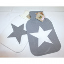 wholesale Wellness & Massage: Hot water bottle  with star design, 2 liters, BS