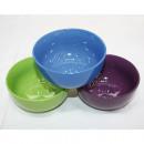 mayorista Casa y cocina: Cereales cuenco de  500 ml, colores 13x7cm surtido