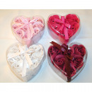 Soap flower-roses Set of 6 each 4g, each 10cm
