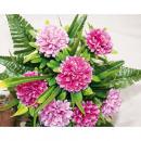 wholesale Garden & DIY store: Bouquet big  34x30cm m 5cm gram flower heads