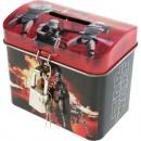 grossiste Epargner boite: Tirelire Metal  Star Wars 8,5 x 7,5 x 5,5 cm