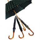 Regenschirm 84cm Stock Karo Automatik