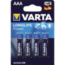 grossiste Batteries et piles: Batterie Varta  Micro AAA 4- High Energy Alkaline