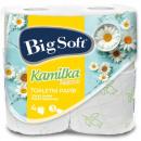 Großhandel Drogerie & Kosmetik: Toilettenpapier  3-lagig 4x160 Black Kamilka Big So