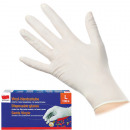Disposable gloves vinyl 100 size L extra thin