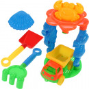 wholesale Toys: Sand playset  6-piece 20x13cm  with truck and 2 ...