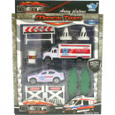 wholesale Models & Vehicles: Game set Rescue  car up to 10-piece 4-fach sor