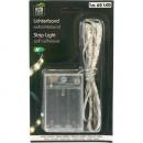 Großhandel Lichterketten: LED Lichtband 60er  x 1 Meter, selbstklebend, warm