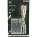 groothandel Lichtketting: LED lichtband 60 x 1 meter, zelfklevend, warme