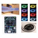 Großhandel Lichterketten: Lichtband 300 LED,  multicolor RGB 8 Farben,