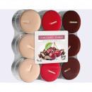 Theelepel chocolade - Cherry 18er Pack, 3 kleuren