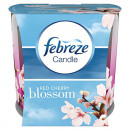 grossiste Bougies & bougeoirs: Febreze Bougie  parfumée 100g fleur de cerisier