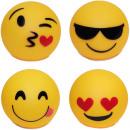 wholesale Toolboxes & Sets: LED Ball Plastic  Smiley Design 10cm 4-fach sor
