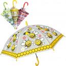 ingrosso Ombrelli: Ombrello con 96cm  fischio bambini automatici