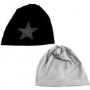 ingrosso Cappelli: Cap donne  d'inverno con  diamanti stella 2 ...