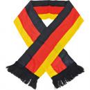 grossiste Gadgets et souvenirs: écharpe Fan  Allemagne de polyester 130cm