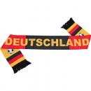 Großhandel Geschenkartikel & Papeterie: Fan Schal  Deutschland aus Polyester 130cm