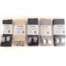 Großhandel Gürtel: Hosenträger Herren  uni ca. 3,5x120cm 5 Farben sort