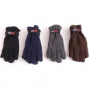 wholesale Gloves: Winter men's glove fleece plain