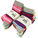 wholesale Fashion & Apparel: Socks ladies 5s  marigold colors assorted