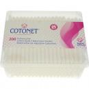 ingrosso Ingrosso Drogheria & Cosmesi: tamponi di cotone  200 Eckdose trasparente cotone