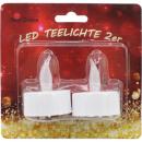mayorista Casa y decoración: Teelichte LED  eléctricamente 2 persona por 4cm con