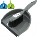 wholesale Cleaning: Kehrgarnitur XL 2-piece 32x22cm without rubber ban